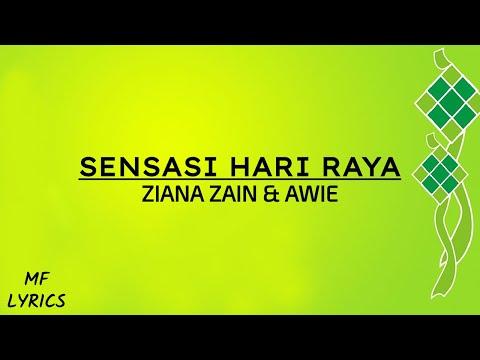 Ziana Zain & Awie - Sensasi Hari Raya (Lirik)
