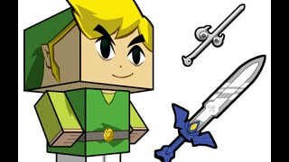 Papercraft Link Cubee Tutorial