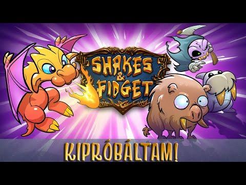 Kipróbáltam - Shakes & Fidget - Almával :)