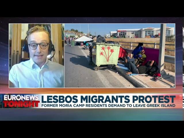 Euronews: Why EU should evacuate the homeless survivors of Moria fire