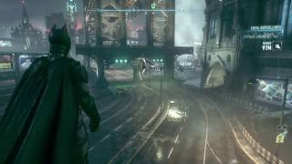 Green Arrow and Superman reference in Batman Arkham knight!