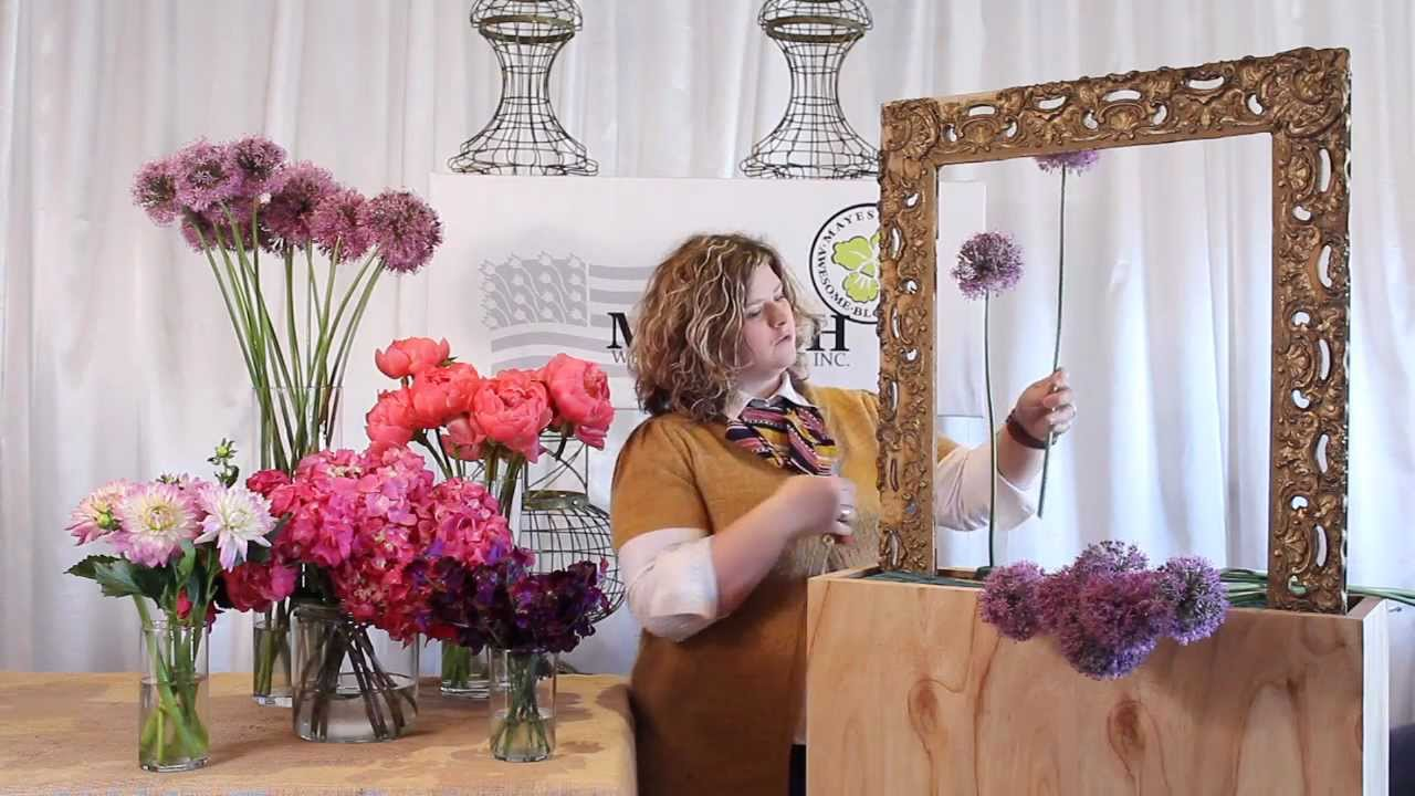 The Art of Flowers July 2012: Floral Art Installation