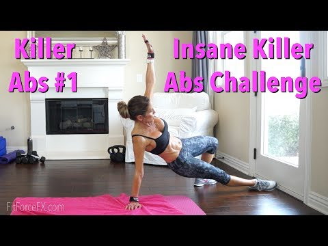 Insane Abs Challenge: Killer Abs Series No. 1 #absworkout #hiit #fatburn #toneup #abs #flatstomach