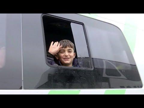 Еще одна группа беженцев вернулась в Нагорный Карабах.