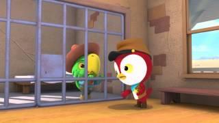 Szeryf Kaja na Dzikim Zachodzie - Pedro Papuga. Oglądaj tylko w Disney Junior!