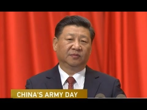 China holds ceremony to mark 90th anniversary of PLA founding