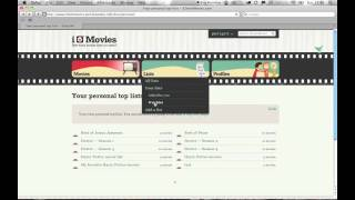 Video Blog: Adding your own movie lists(, 2010-07-11T16:31:52.000Z)