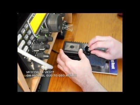 Cherkasy Morse key