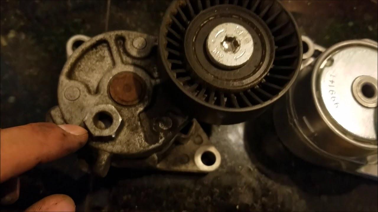 e36 serpentine belt tensioner replacement