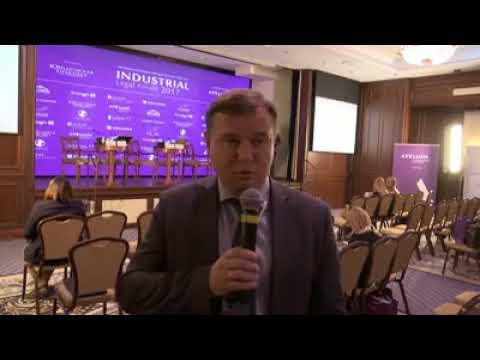 Партнер ESQUIRES Artem Saprykin  Industrial Legal Forum 2017 Юридическая практика інвестування та ре