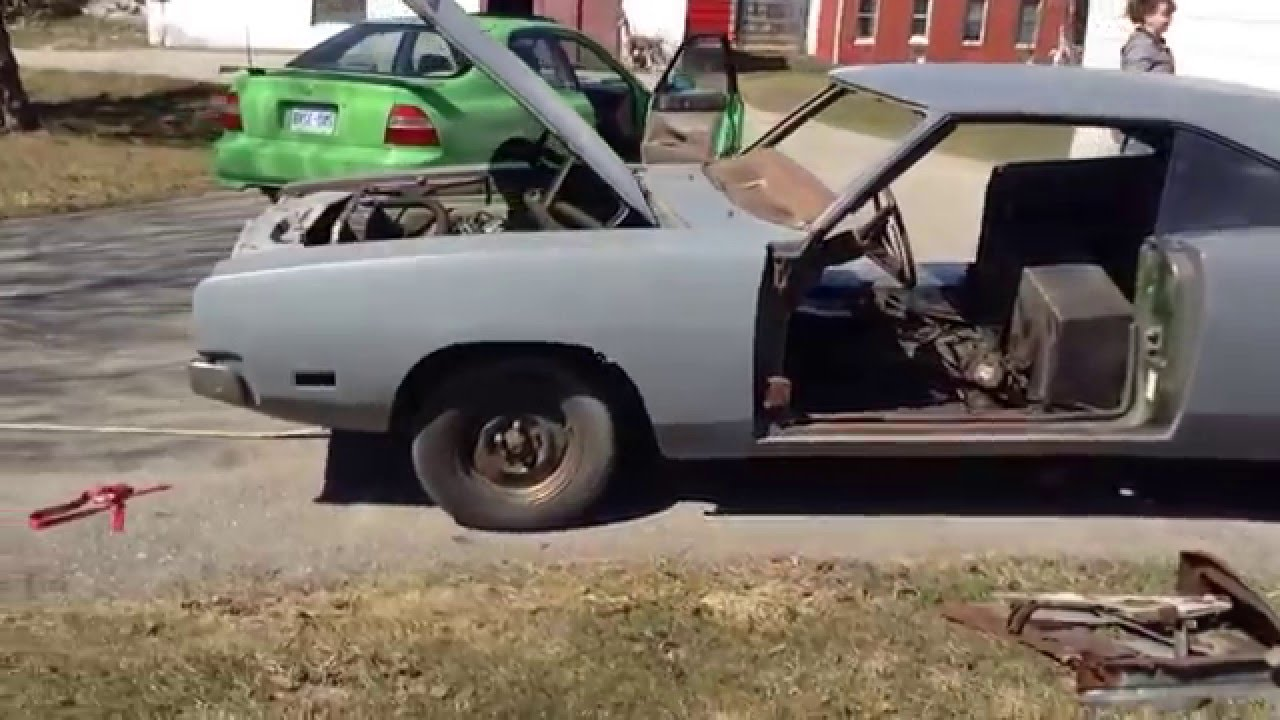 1969 Dodge Charger Project For Sale - YouTube