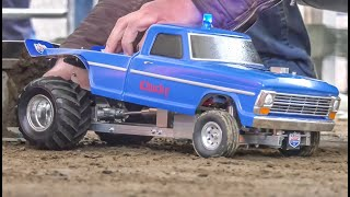 RC Tractors EXTREME! Crazy Tractor and Truck Pulling!