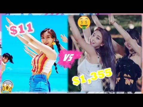 Twice The Most Expensive Vs Cheapest Outfit In Dance The Night Away
