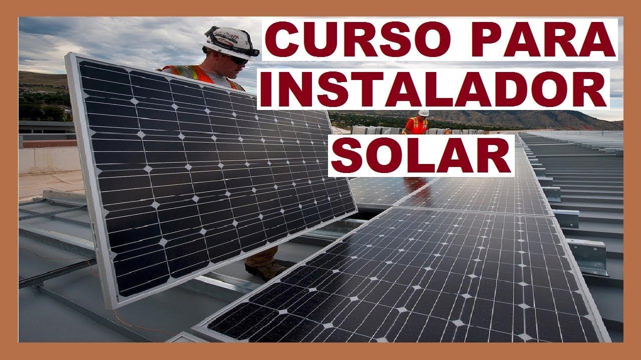 O Curso De Instalação De Energia Solar Online Que Vale A pena!