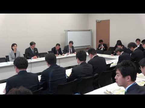 福島復興・原発事故対策本部 2018年度復興関連予算等ヒアリング