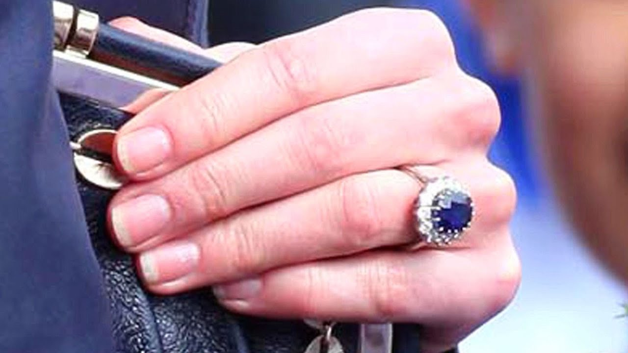 How to Get a Ring like Kate Middleton\'s | Diamond Rings - YouTube