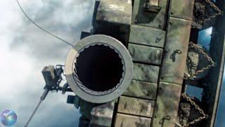 Команда «А». Полет на танке. вторая часть.