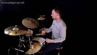 One Minute Lesson 8: Groove work with a cool hi hat ostinato