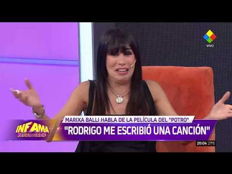 ¿Qué dijo Marixa Balli sobre la nueva película de Rodrigo?