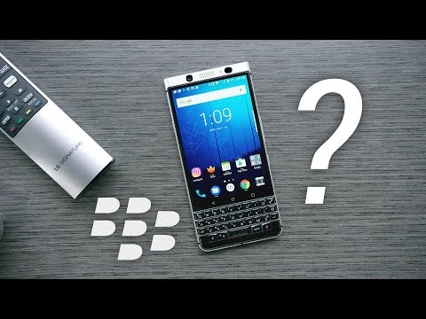 Blackberry KEYOne: 2017 Comeback?
