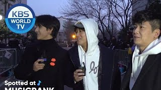 [Spotted at Music bank] 뮤직뱅크 출근길 - Brave Hongcha, MONSTA X, NATURE [2019.02.22]
