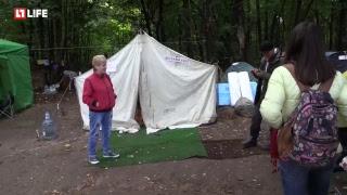 Живут в палатках вместо новостройки
