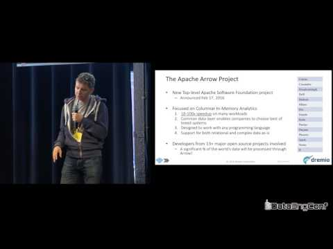 Future of Column-Oriented Data Processing with Arrow & Parquet by Julien Le Dem | DataEngConf NY '16
