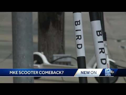 Electric scooters may soon make a comeback in Milwaukee