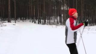 Как кататься коньком на лыжах.  Урок 4.  Виды ходов.