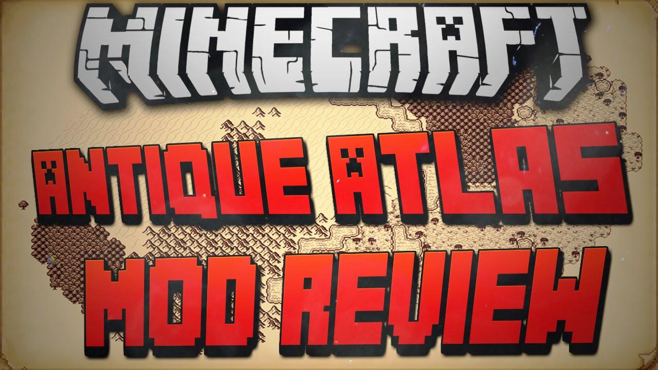 Minecraft 1.7.10: Antique Atlas Mod Review! - YouTube