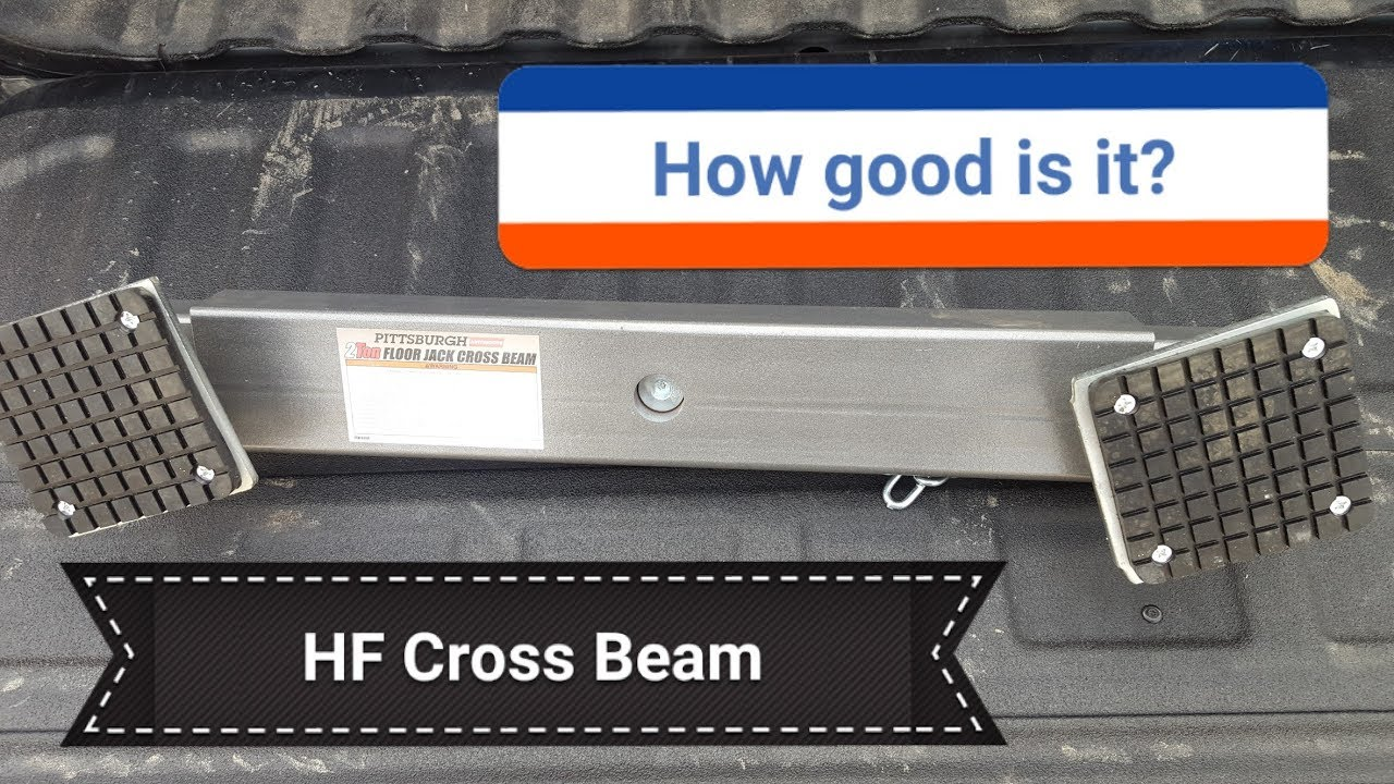 Harbor Freight Floor Jack Cross Beam Review Unboxing