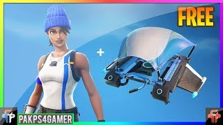 How To Download FREE SKIN + GLIDER! Fortnite Battle Royale