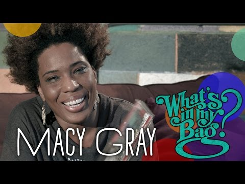 Macy Gray - What's In My Bag?