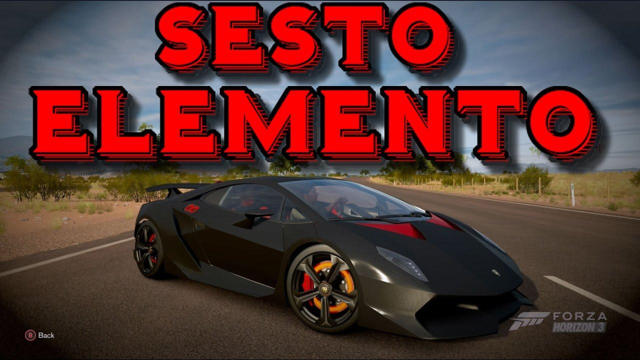 Forza Horizon 3 How To Win The Lamborghini Sesto Elemento