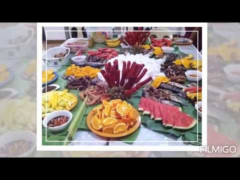BOODLE FIGHT BUFFÉ At Zerene Place Hot Spring Resort, Laguna, Philippines. Feb. 2016.