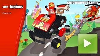 LEGO Juniors mit Ninjago! 🐱👤 Gratis  Spiel für Kinder (deutsch)