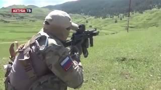 Видео с места ликвидации боевика в Дагестане