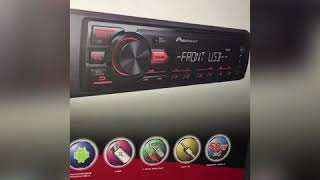 UNBOXING PIONEER 2018 MVH-85UB!!! REVIEW + Functions