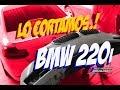 Cortamos facia defensa delantera BMW 220i / Raspamos cofre Camaro / Marco MAAP Carshop