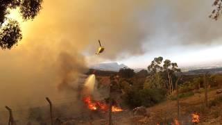 Cape town fire Tokai 2015 by Alex Munroe