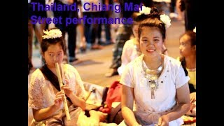 Thailand, Chiang Mai Walking Street performance