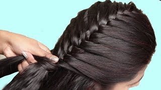 Easy Quick Braided Hairstyle for School Girls | Everyday Hairstyles for Girls 2018 #hairstyles2018
