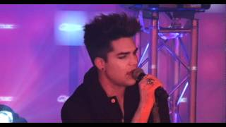 Adam Lambert - Better Than I Know Myself (live op de Q-Snowcase 2012)