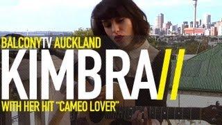 KIMBRA - CAMEO LOVER (acoustic) (BalconyTV)