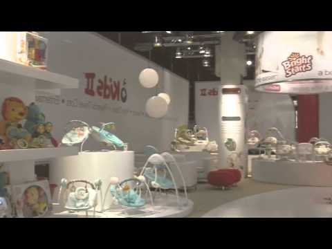 Exhibition Stand Design And Build Germany : Custom exhibition stand build for bright starts kids ii at kind