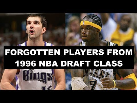 8 Most Forgotten Players From The 1996 NBA Draft