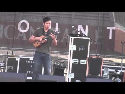 Jake Shimabukuro - full show Guitar Town Copper Mtn., CO 8-10-13 SBD HD tripod