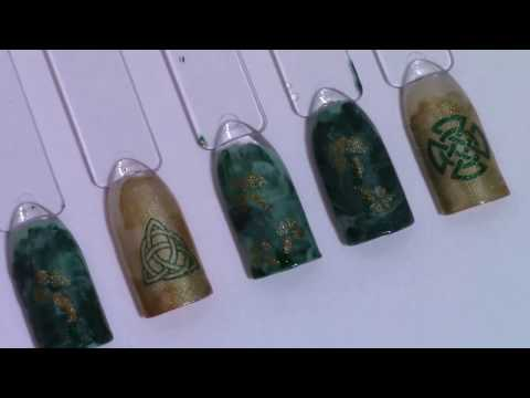 DIY Celtic Nails