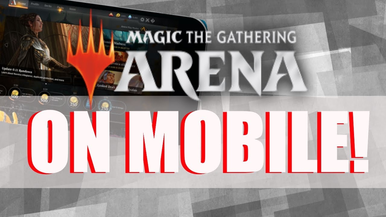 MTG ARENA ON MOBILE! | Magic: The Gathering Arena News
