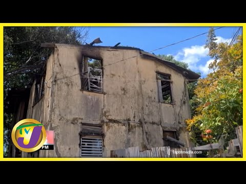 Bob Marley's Childhood House Destroyed by Fire in Jamaica | TVJ News - Sept 18 2021